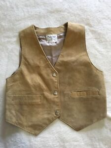 Youth Leather Vest