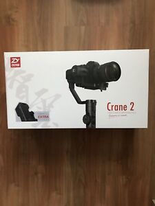 Zhiyun Crane 2 - Like new w/ unopened Follow Focus