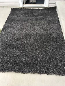 Brand New Shag Rugs Grey, Brown & Dark Grey $125 each OBO.