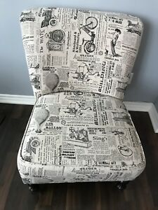 Newspaper Chair for Living Room