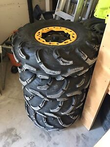 Can Am Commander Wheels and Tires