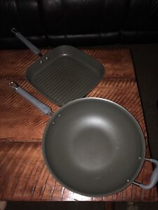 Pampered Chef Grill and Skillet