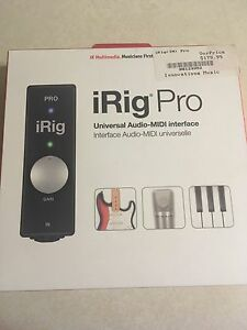 iRig Pro Universal Audio-MIDI interface