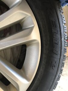 Mags + Pneus d'hiver Pirelli Scorpion winter tires - 245/60 R18