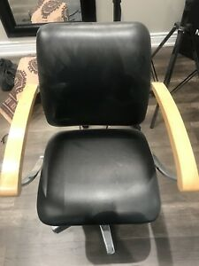 Salon Shampoo sink and chair, styling chair for sale