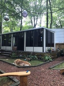 Trailer with Florida room