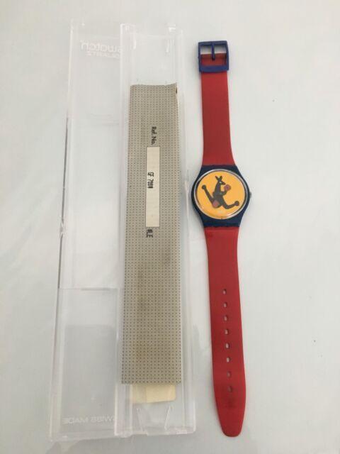 """275f2719432 Vintage """"Boxing Kangaroo"""" Swatch Watch"""