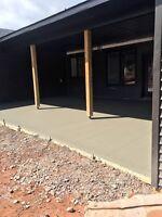 Garage Slabs/Concrete Floor Installations