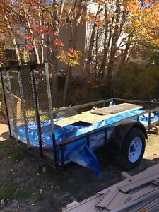 Trailer with papers and MVI 15' Tires