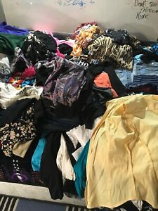 HUGE CLOTHING LOT WOMENS ALL BRAND NAME