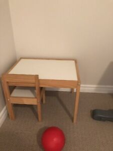 Children's Table - desk and two chairs