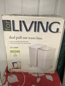 Dual Pull-out Waste Bins