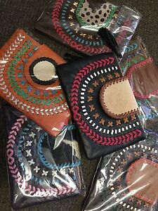 Brand New Leather Clutches with Cow Hide Robina Gold Coast South Preview