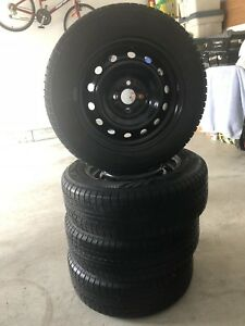 195 65 15 winter tires with rim!