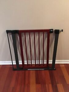 Munchkin Baby Safety Gate (wood & steel)