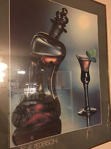 Picture frame alcohol