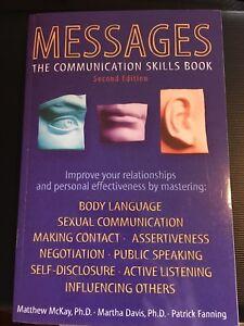Messages communication book