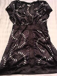 Large Dynamite tunic satin  dress