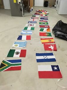 2010 FIFA World Cup South Africa Hanging Pennant Banner