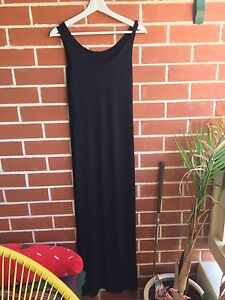 Black full length casual dress Woolooware Sutherland Area Preview