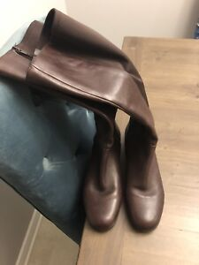 Brown Nine West boots size 6 $140obo