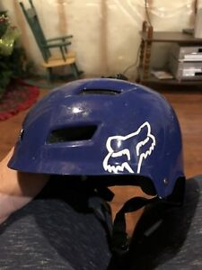 Fox bicycle helmet