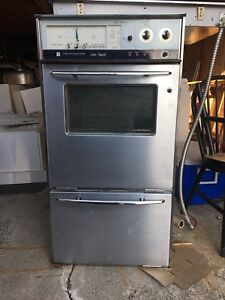 Antique stainless steel Frigidaire air stove