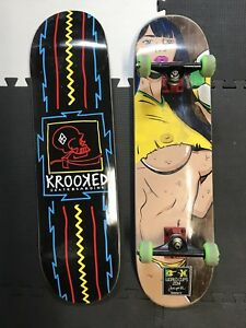 DGK complete skateboard and new spare deck