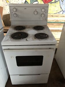 "24"" stove ready for pick ip"