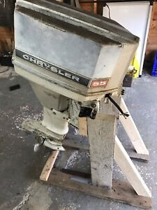 55hp Chrysler outboard (parts or repair)