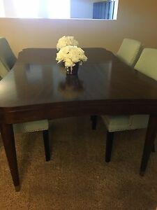 Solid wood table for sale. Table only.  Kitchener / Waterloo Kitchener Area image 2