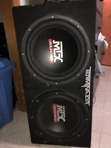 PRETTY MUCH NEW MTX SUBS 12INCH