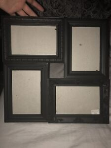 Black Picture Frame, Fits 4