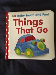 Baby Cardboard Book Things That Go