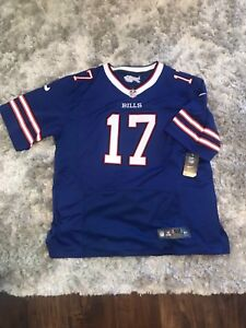 Brand new with tags, Bills and Sabres jersey