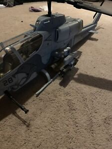 Toy helicopter with Figure