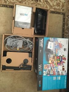 Wii U 32gb bundle deal-$275 lots of games and accessories