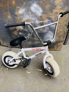 White BMX Hannibal Rocker Bike Mini
