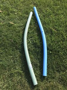 Pool float tubes (Pool noodles)