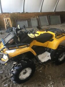 2010 can-am outlander 800r