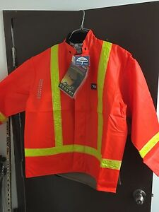 Hi visibility rain jackets VIKING brand new