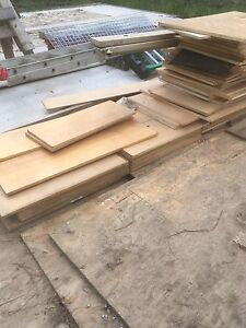 Free plywood and shingles