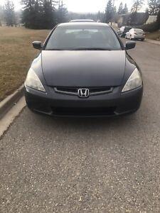 2003 Honda Accord (Manual and Active status)