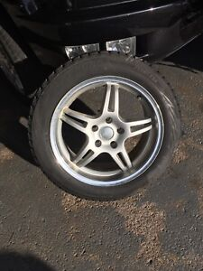Used Blizzak tires and rims