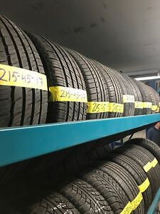 215-45-17 ALL SEASON TIRES IN EXCELLENT CONDITION FOR SALE!!