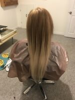Tape and fusion hair extensions
