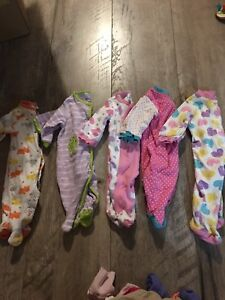 Huge lot of girl 3 month clothing