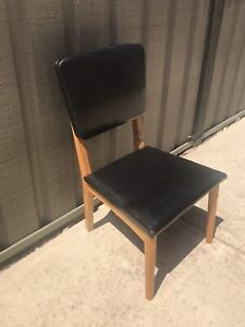 Mid Century Child's Chair. Tassie Oak Frame. Parker Style