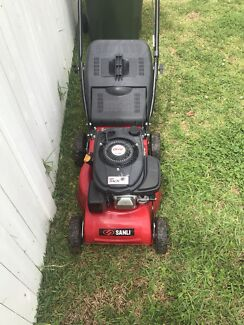 Lawn mower.  Easy to start and good condition