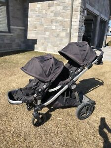City Select Double Stroller with extras